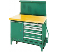 Work tables and tool cabinets