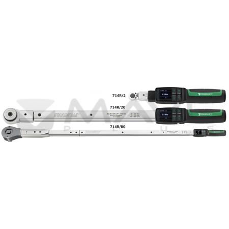 96501004 elektronický klíč  s přepínatelnou ráčnou  40 - 400 Nm
